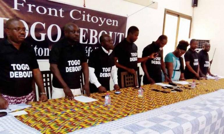 Le Front citoyen Togo Debout reporte l'évènement sur le 22 Octobre et met en garde le Gouvernement