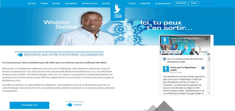 Le parti Unir crée son site web pour plus d'interactions avec les militants et sympathisants
