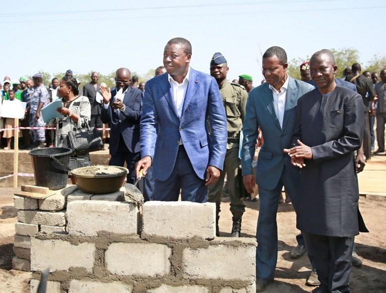 Des Projets sociaux lancés par Faure Gnassingbé dans la localité d'Akparé
