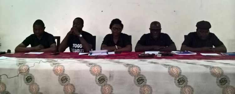 Le Front Togo Debout propose une transition 22 novembre 2017