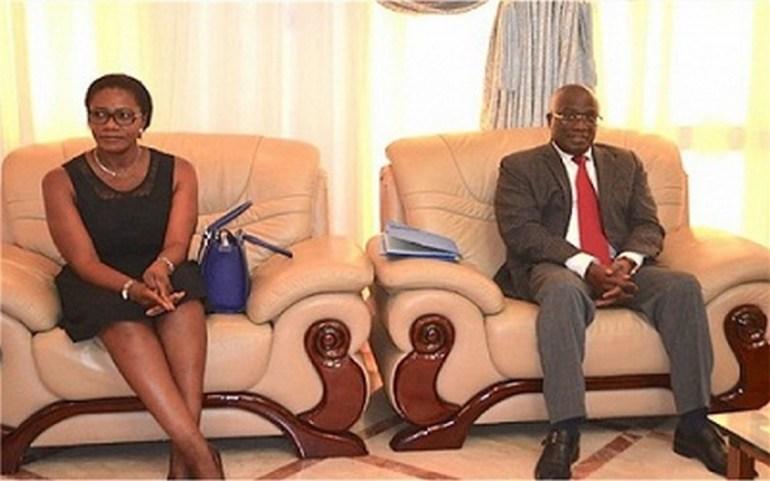 Komi Klassou s'est entretenu avec les professionnels de l'industrie du pétrole du Togo