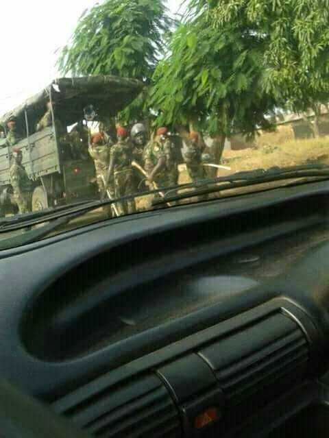 Togo/Sokodé: Une ville hautement militarisée ce mardi