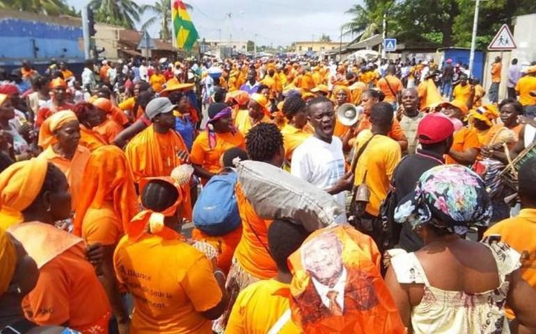 6500 à 7000 personnes ont manifesté hier selon le bilan officiel