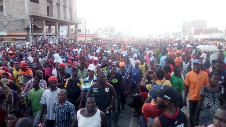 Togo / La coalition des partis de l'opposition, reconnaissante pour la mobilisation des populations