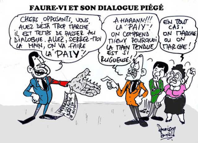 Togo, Prétendue volonté d'apaisement du pouvoir : Des « mesurettes » brandies comme l'exploit du 3e millénaire !
