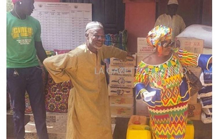 La misère des 623 Togolais réfugiés à Chereponi (nord du Ghana)