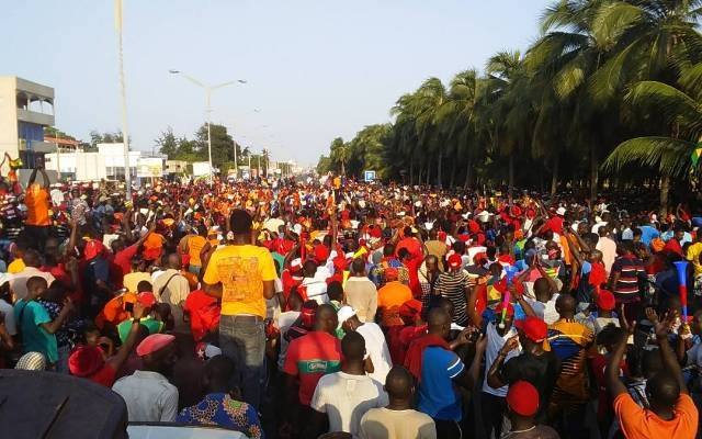 Togo, Mobilisation contre le pouvoir Faure Gnassingbé : Le peuple décidé à atteindre sa « Terre promise » !