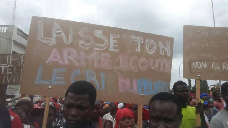 Manifestations de ce 7 novembre : Un geste qui envoie un message fort de l'unité des togolais dans la lutte commune!