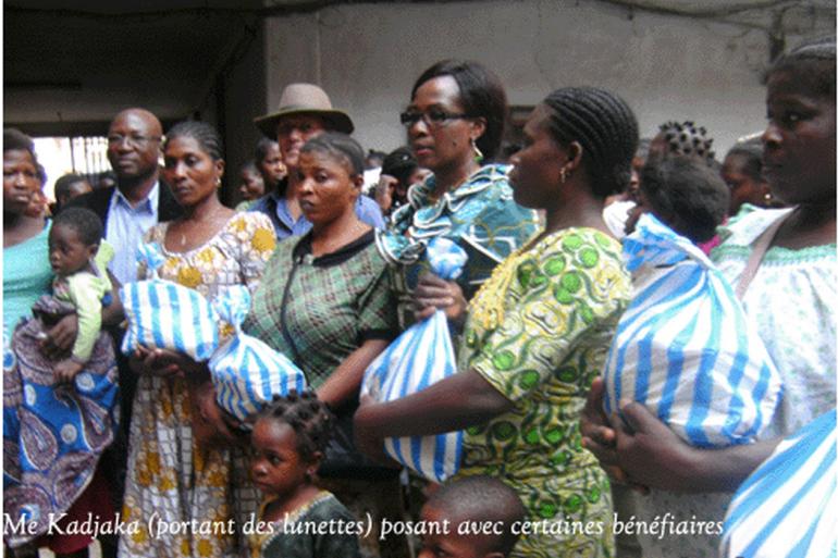Noel: l'AAVOED s'est rappelé des femmes portefaix du grand marché de Lomé