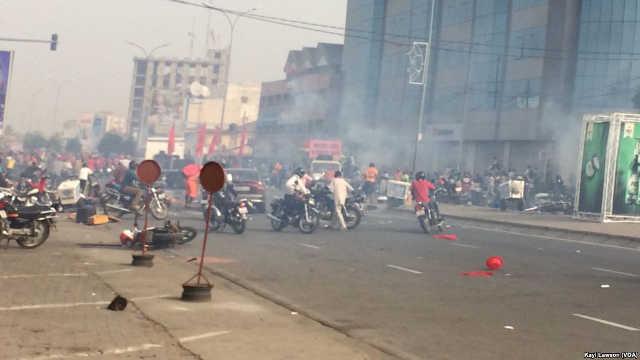 Togo, Manifestation populaire réprimée à Lomé : Affrontements entre manifestants et policiers à Déckon