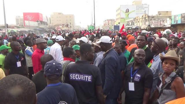 Togo : Des milliers de personnes de nouveau dans les rues de Lomé, ce 27 décembre 2017