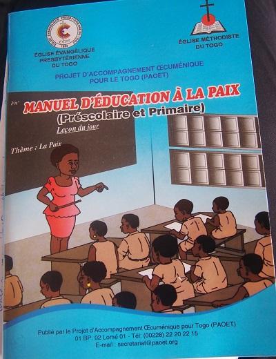 L'enseignement protestant cultive la paix chez les apprenants