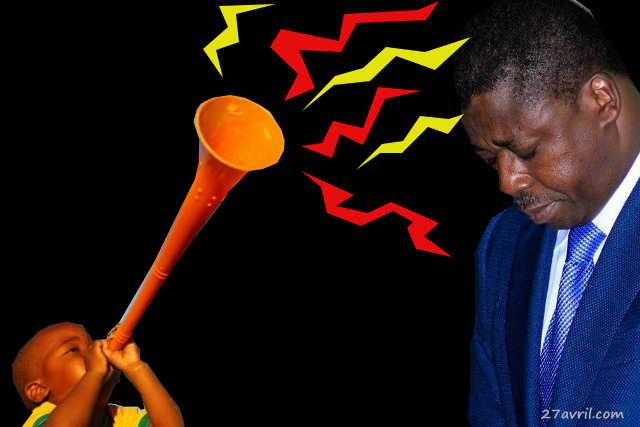 Hey, Togolais(e), N'oublie pas : Ce Vendredi 29 décembre 2017, c'est « Opération Vacarme d'Enfer » pour déboucher les oreilles de Faure Gnassingbé !