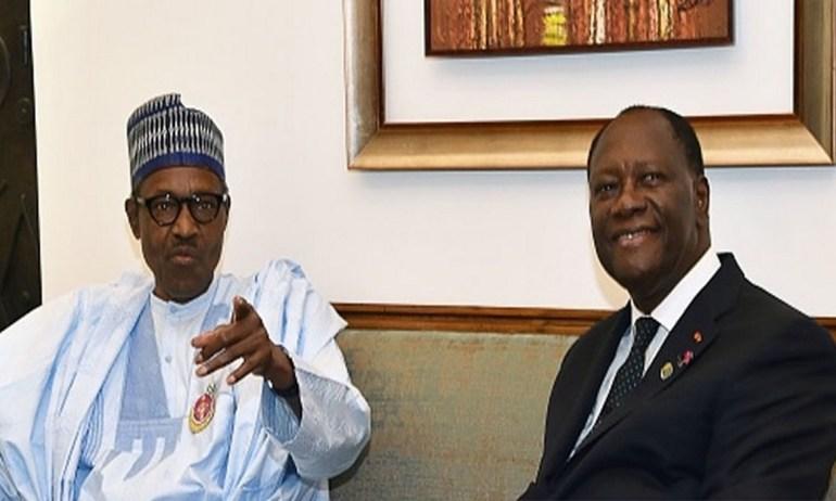 Muhammadu Buhari inquiet de l'instabilité politique qui prévaut au Togo
