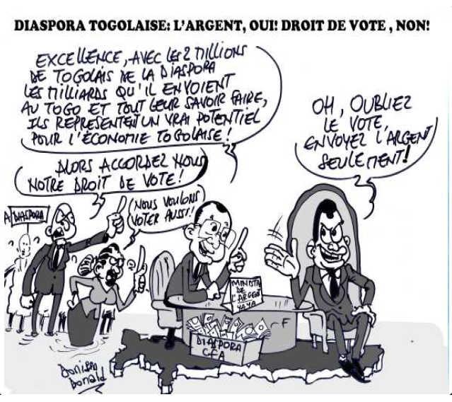 Togo, Vote De La Diaspora : Enjeu et Perspectives