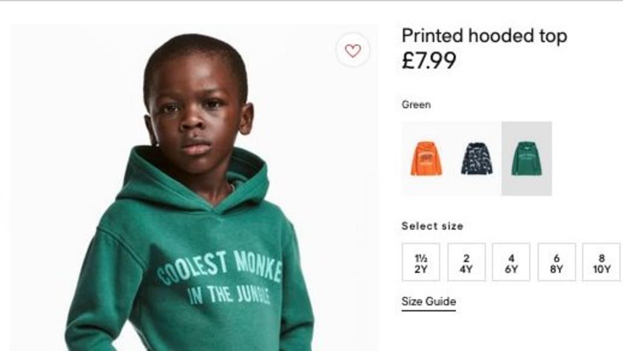 Afrique du Sud: manifestations contre la publicité jugée 'raciste' de H&M
