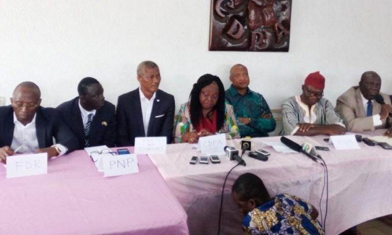 Selon la coalition des 14, «les propos de Gilbert Bawara sont irresponsables et indignes»
