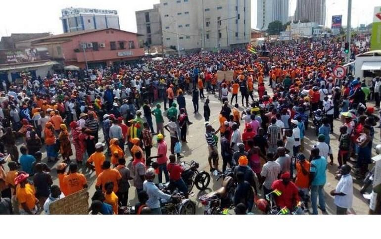 Togo: cette semaine s'annonce chargée pour la coalition des 14