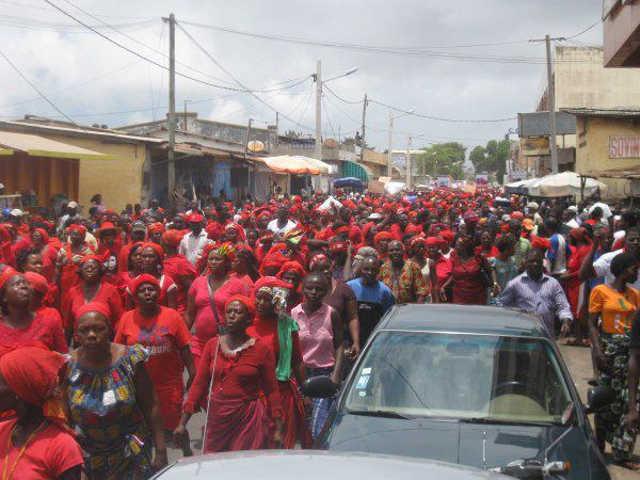 Togo : Femmes Togolaises, Résistez !