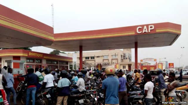 Pénurie de carburant au Togo