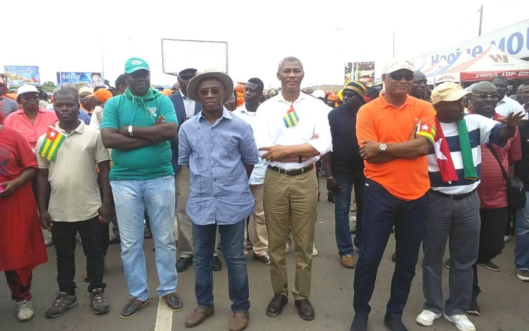 Nana Akufo-Addo ne trouve pas d'objection aux manifestations de la coalition