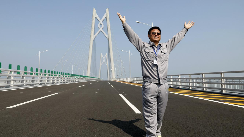 Chine: construction du plus grand pont du monde