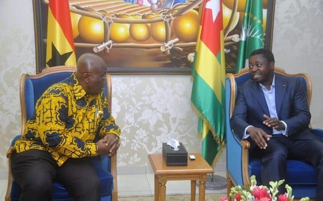Faure Gnassingbé à Accra ce mercredi pour s'entretenir avec Nana Akufo-Addo