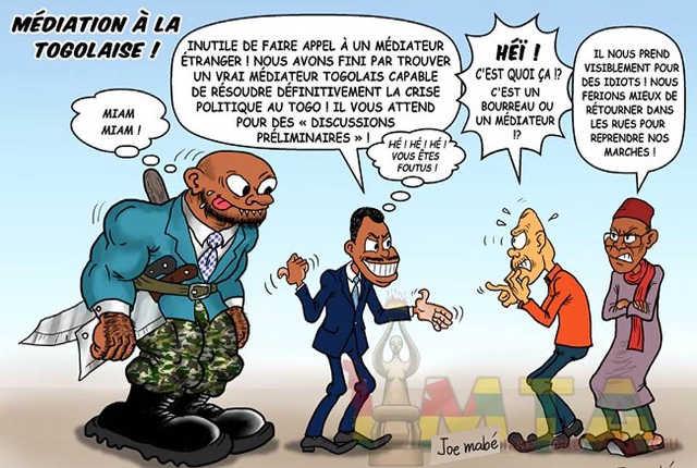 Togo : Le Spectre du Chaos, par la Volonté de Faure Gnassingbé