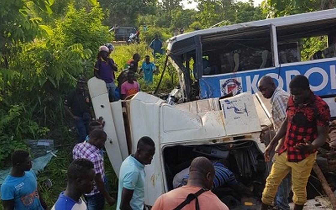 Togo/Accident du bus de Koroki de Tchamba : plusieurs blessés graves