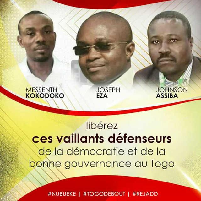 Togo, Détention arbitraire des membres de « Nubueke » : L'émouvante lettre des enfants de Joseph Eza