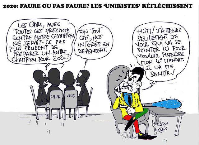 Togo, 2020 avec ou sans Faure Gnassingbé ? : Le RPT-UNIR à la croisée des chemins.