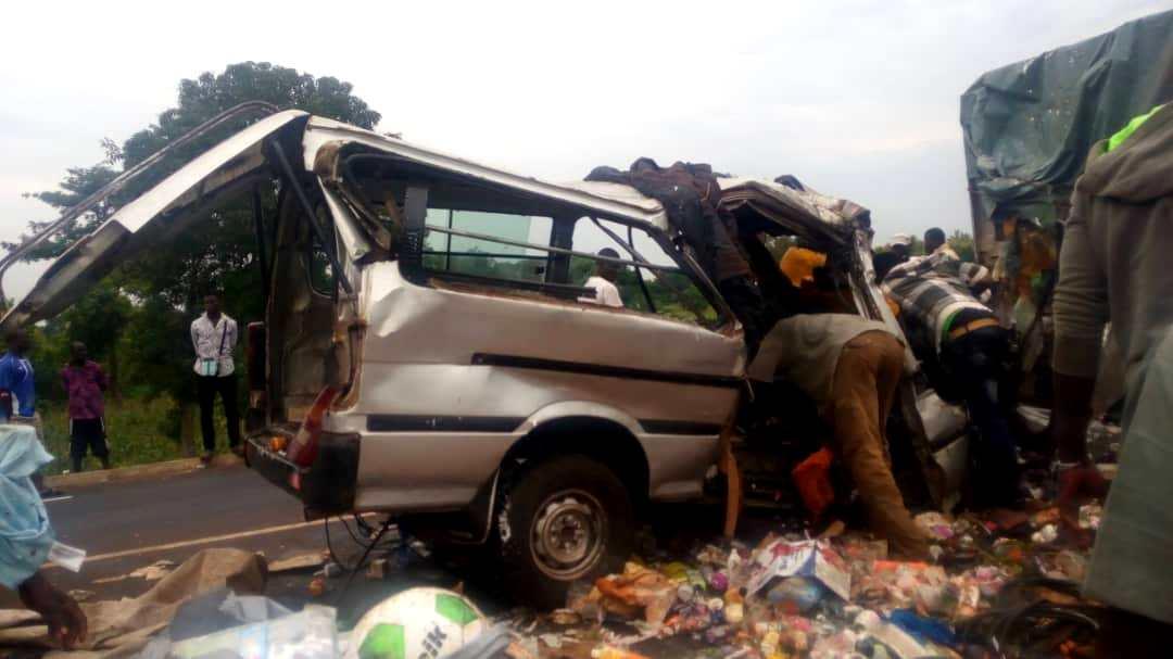 Togo: Grave accident de circulation sur la Nationale N°1 / Bilan 11 morts