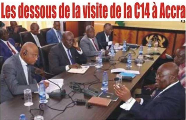 Togo, Politique : Les dessous de la visite de la C14 à Accra