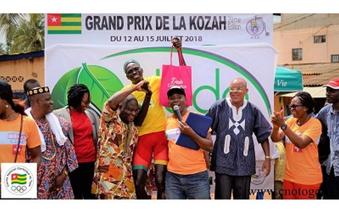 Grand prix de la Kozah/1ère étape: le béninois Emmanuel Sogbo enfile le maillot jaune