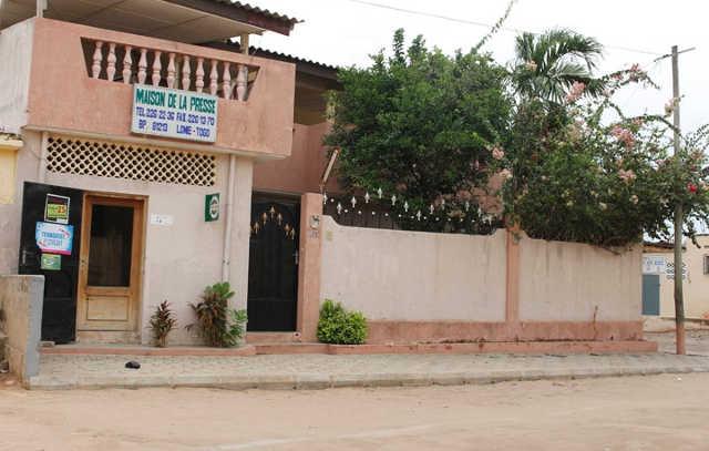 Togo, Medias : La Maison de la Presse en « Détresse »