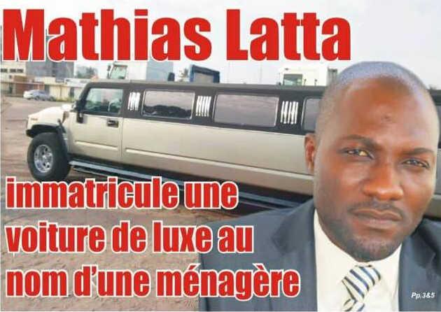 Togo, Mégalomanie : Mathias Latta immatricule une voiture de luxe au nom d'une ménagère