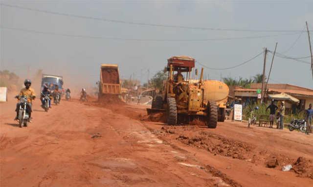 Togo, Tronçon Super Taco-Econof : La face cachée d'une ville urbanisée