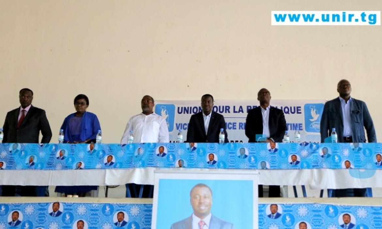 Unir Lacs: Kodzo Adédzé mobilise la population derrière Faure Gnassingbé