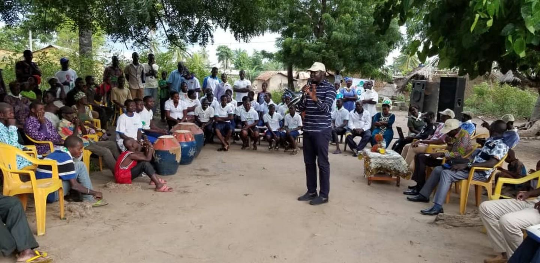 Togo/Gerry Taama exhorte les populations de l'Est-Mono à expérimenter son parti, le NET