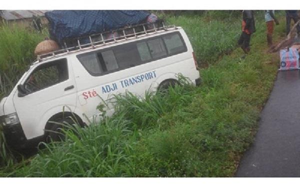 Accident de circulation d'un bus de la société de transport « Adji » à Agbandi                                                                             5 septembre 2018