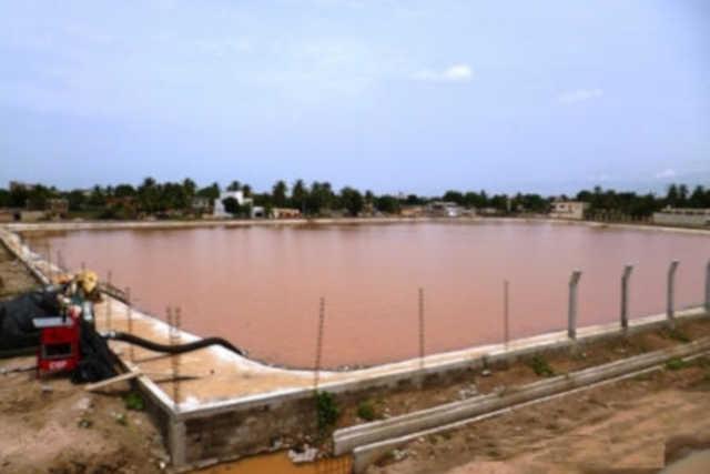 Togo, Construction du bassin de rétention : La Mairie de Lomé et l'entreprise NECBAPS-BTP Narguent la Population de Nukafu