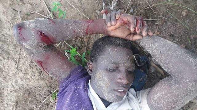 Togo :  Le jeune Kokou Joseph «Jojo» Zoumekey inhumé, un an après son assassinat par le régime Faure/RPT-UNIR.