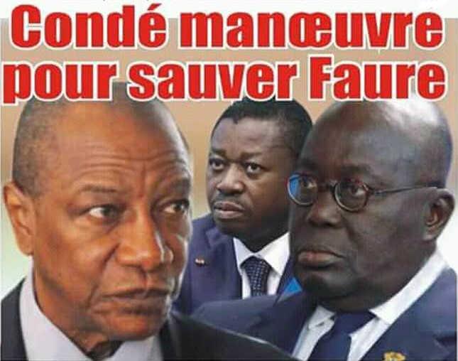 Crise politique au Togo, Facilitation en difficulté : Condé manœuvre pour sauver Faure