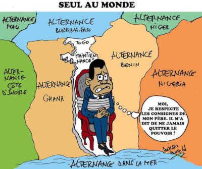 Togo : Pardon, faut parler un peu !