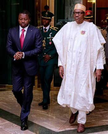 Togo, Confidentiel : Discrète rencontre entre Faure Gnassingbé et Muhammadu Buhari