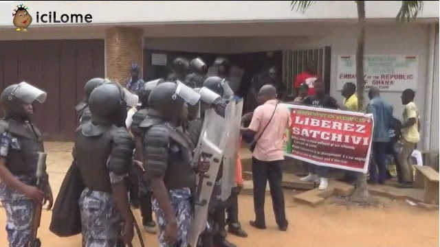 Chronique de Kodjo Epou : Vingt gendarmes pour un (1) gréviste de la faim.