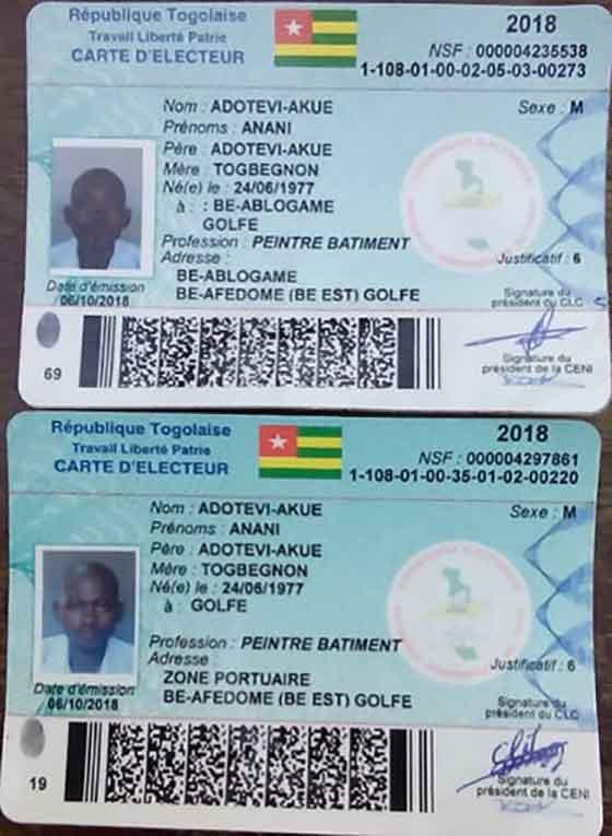 Togo : Ces anomalies qui exposent l'incompétence de la CENI de Kodjona Kadanga                                                                             8 octobre 2018