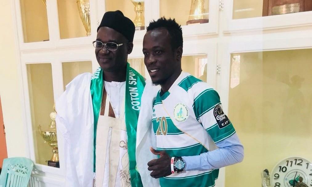 Togo Football / Serge Seko rejoint son compatriote Bassa Djeri au Coton Sport de Garoua