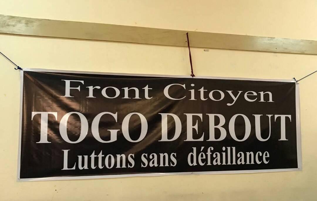 Marche pacifique du 3 novembre : Togo Debout prend acte de l'itinéraire « imposé » par le ministre Boukpessi