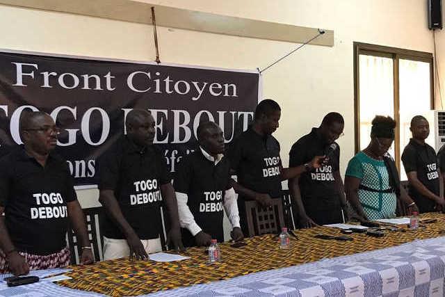 Togo, Libération des détenus politiques : Le «Front Citoyen Togo Debout » Reprend la rue le 3 novembre prochain…